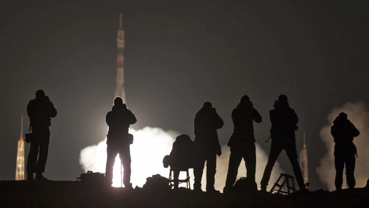 Start Sojuzu TMA-16M