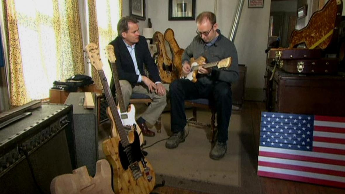 Výrobce kytar v Detroitu