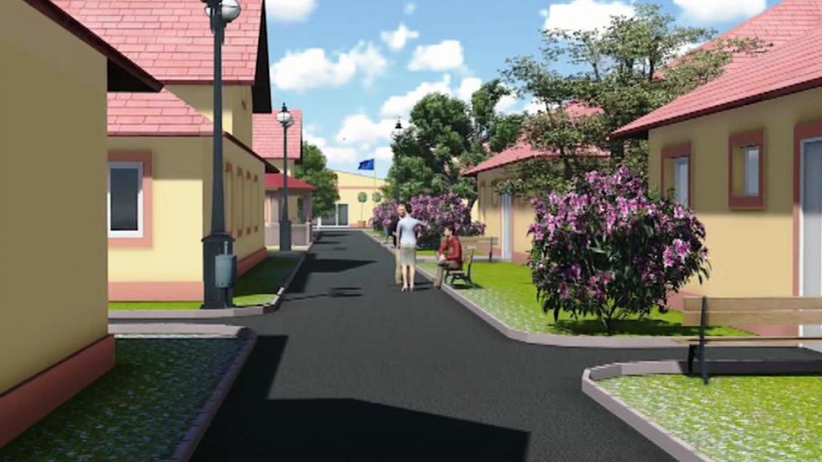 V Račeticích na Chomutovsku roste městečko pro seniory
