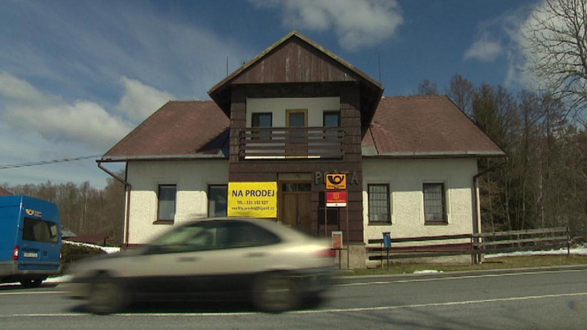 Bývalá pošta v Javorné na Klatovsku