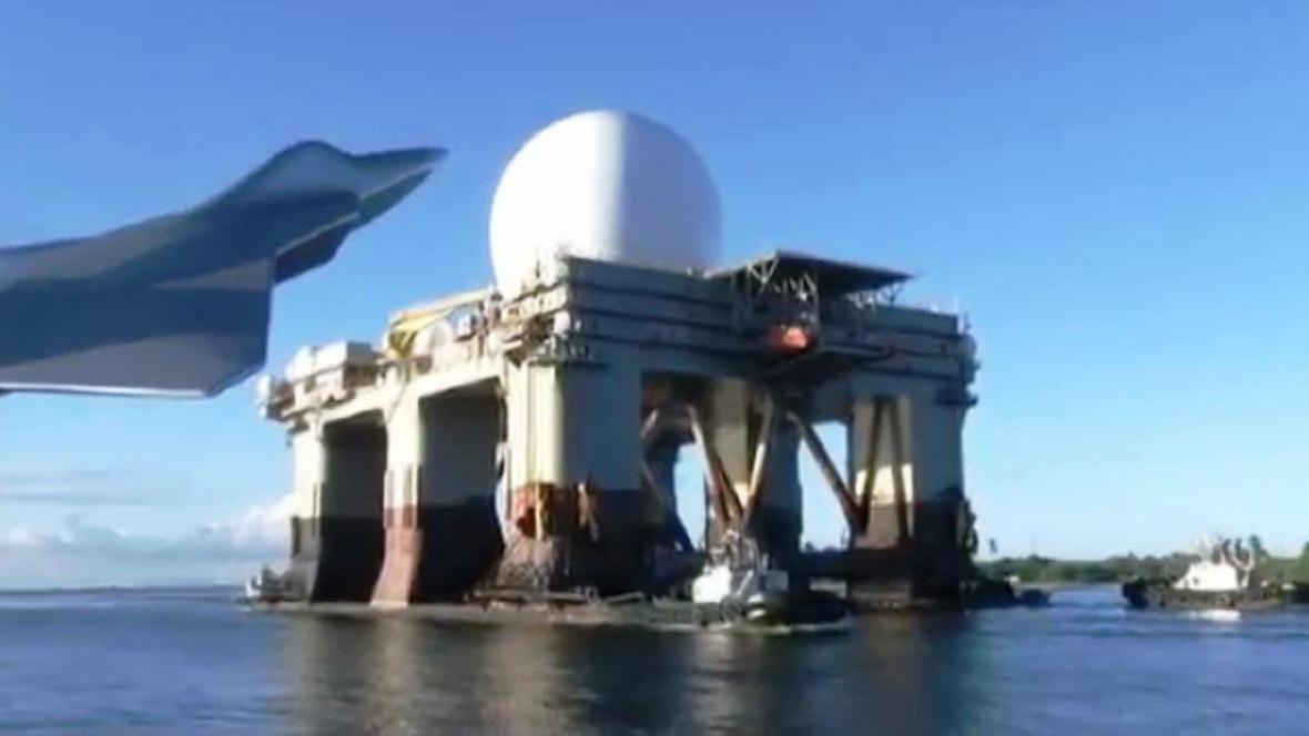 Plovoucí radar SBX