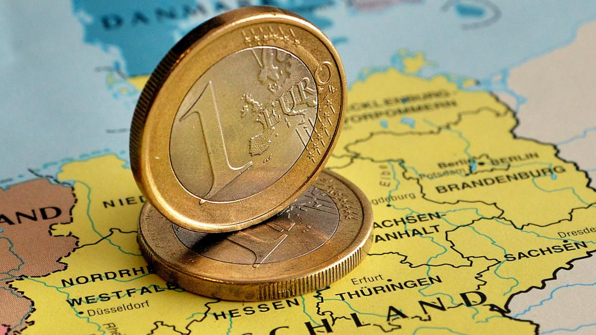 Německé euro