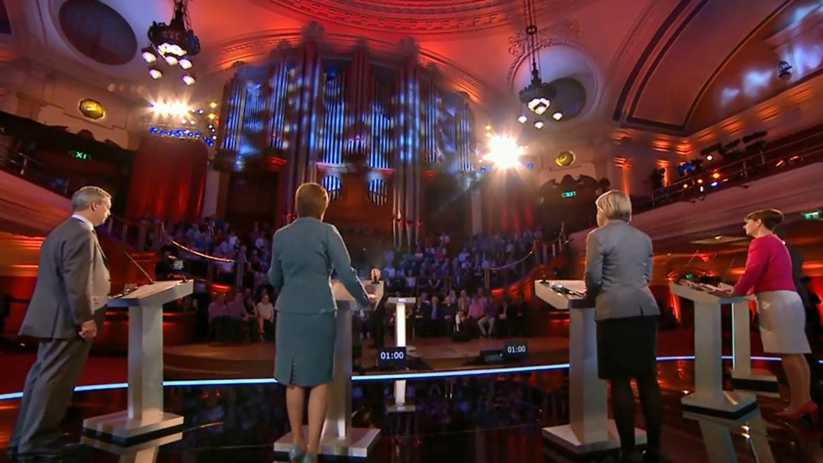 Britská předvolební televizní debata
