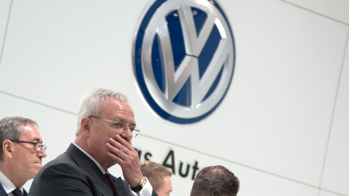 Generální ředitel VW Martin Winterkorn