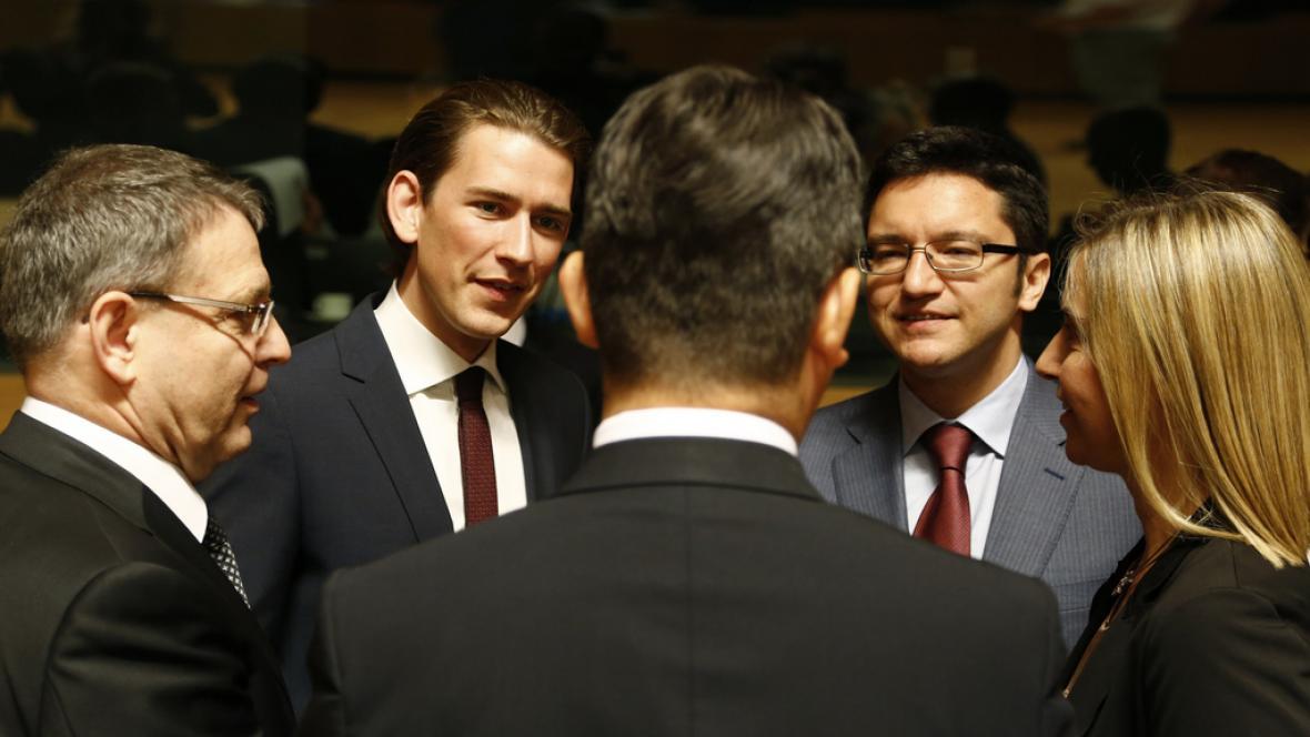 Schůze unijních ministrů zahraničí v Lucemburku