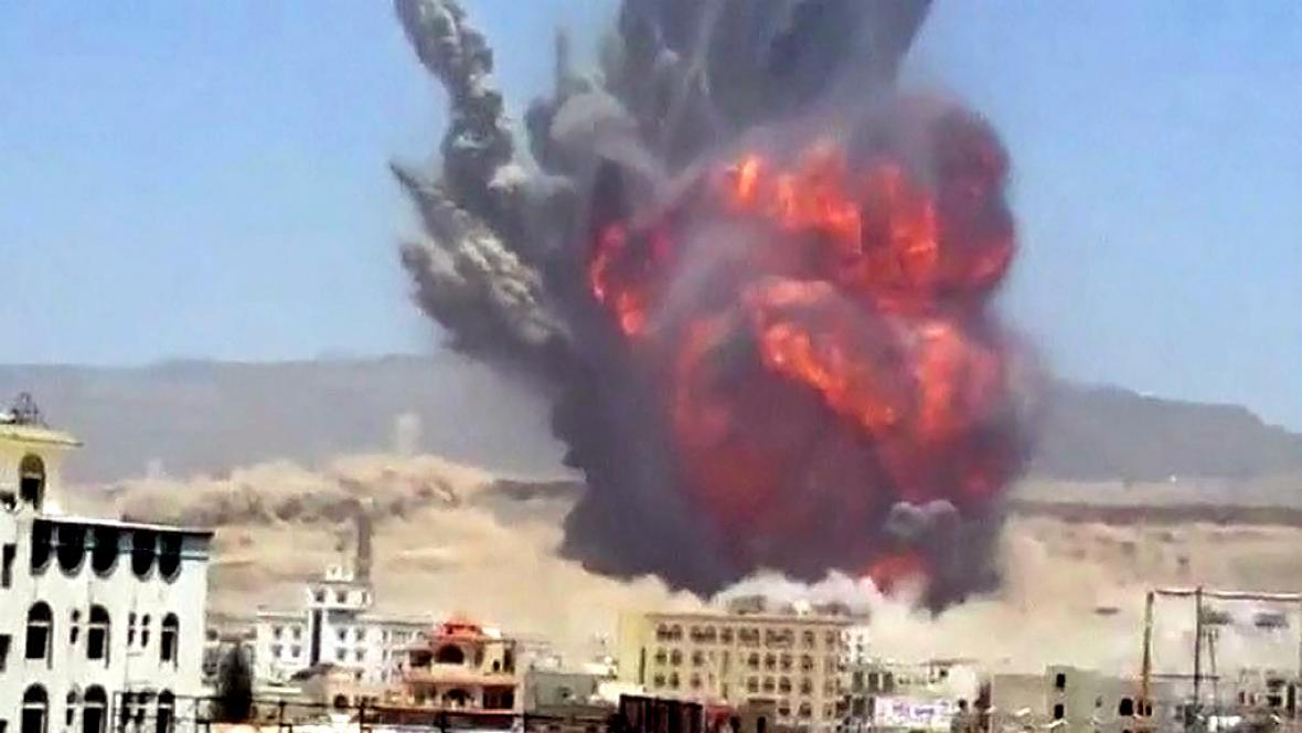 Nálety v Jemenu