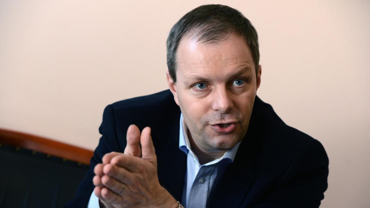 Ministr školství Marcel Chládek (ČSSD)
