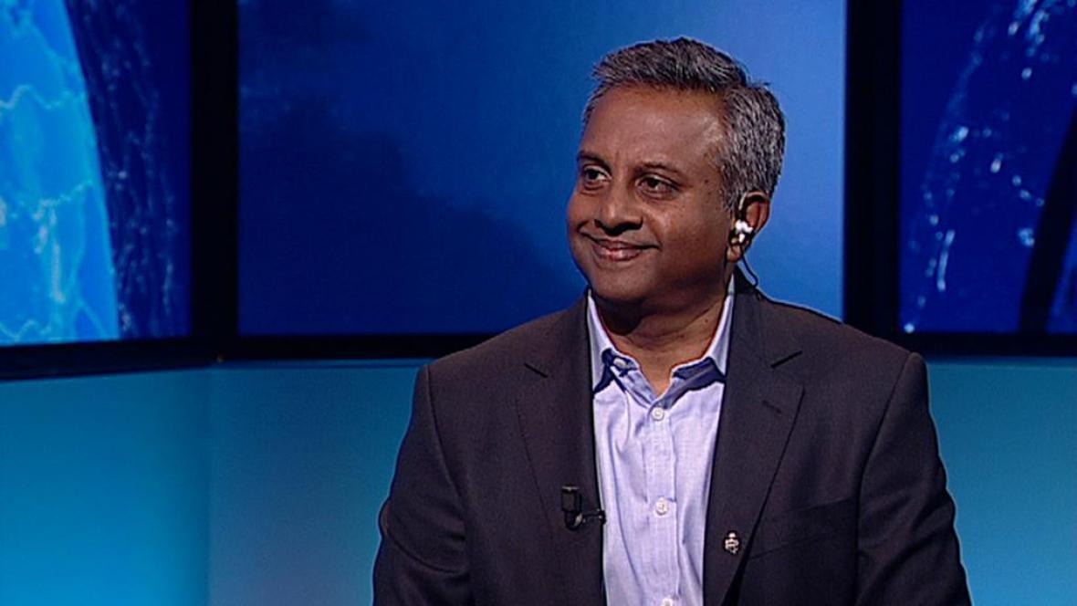 Generální tajemník Amnesty International Salil Shetty