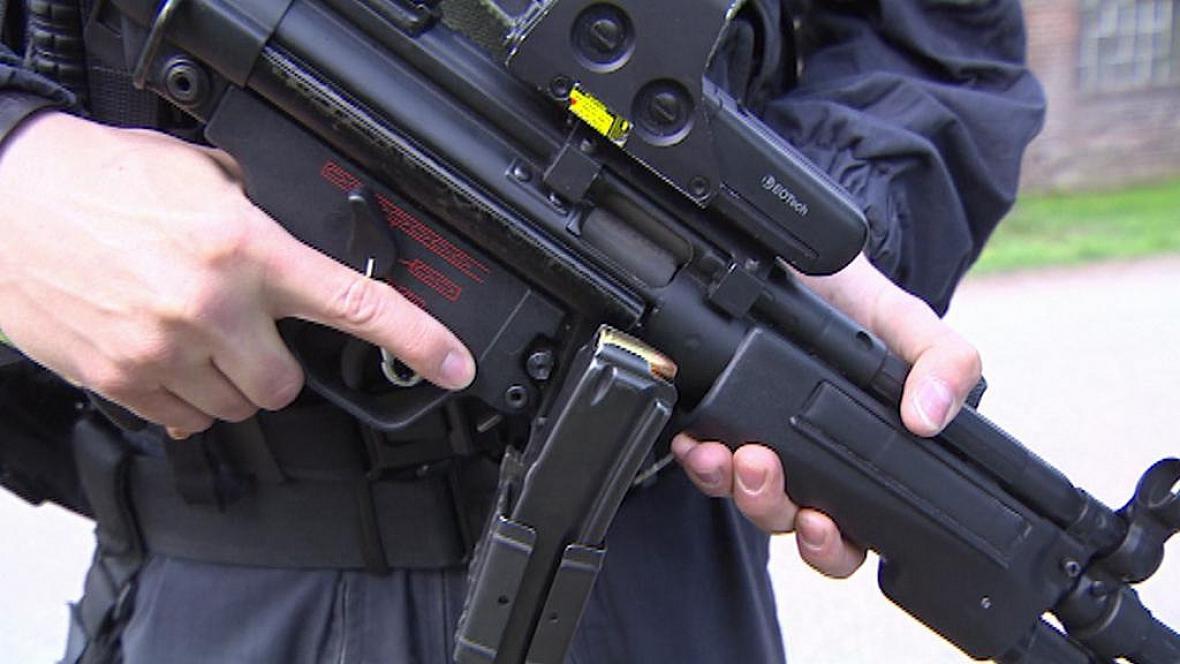 Samopal HK MP5