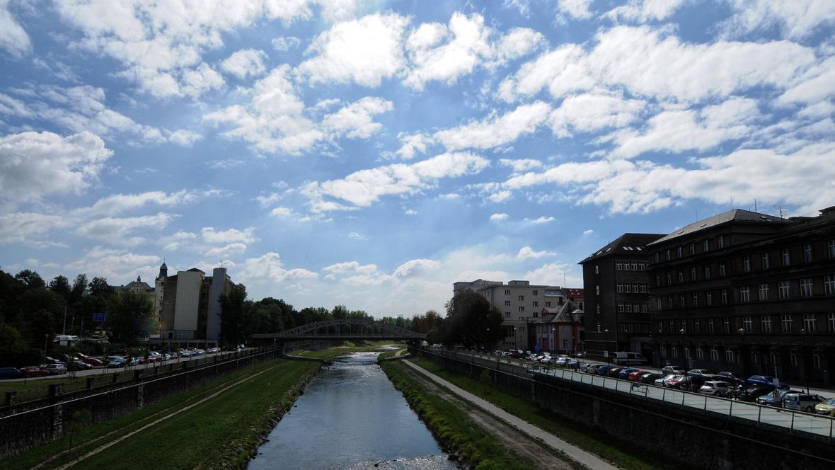 Ostrava - řeka Ostravice