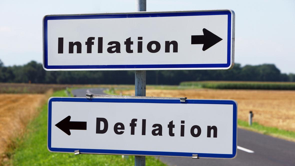 Eurozóna se zřejmě pomalu dostává z deflace