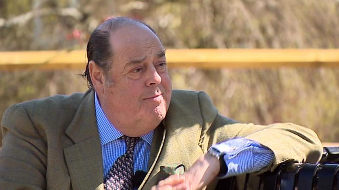 Nicholas Soames, vnuk Winstona Churchilla