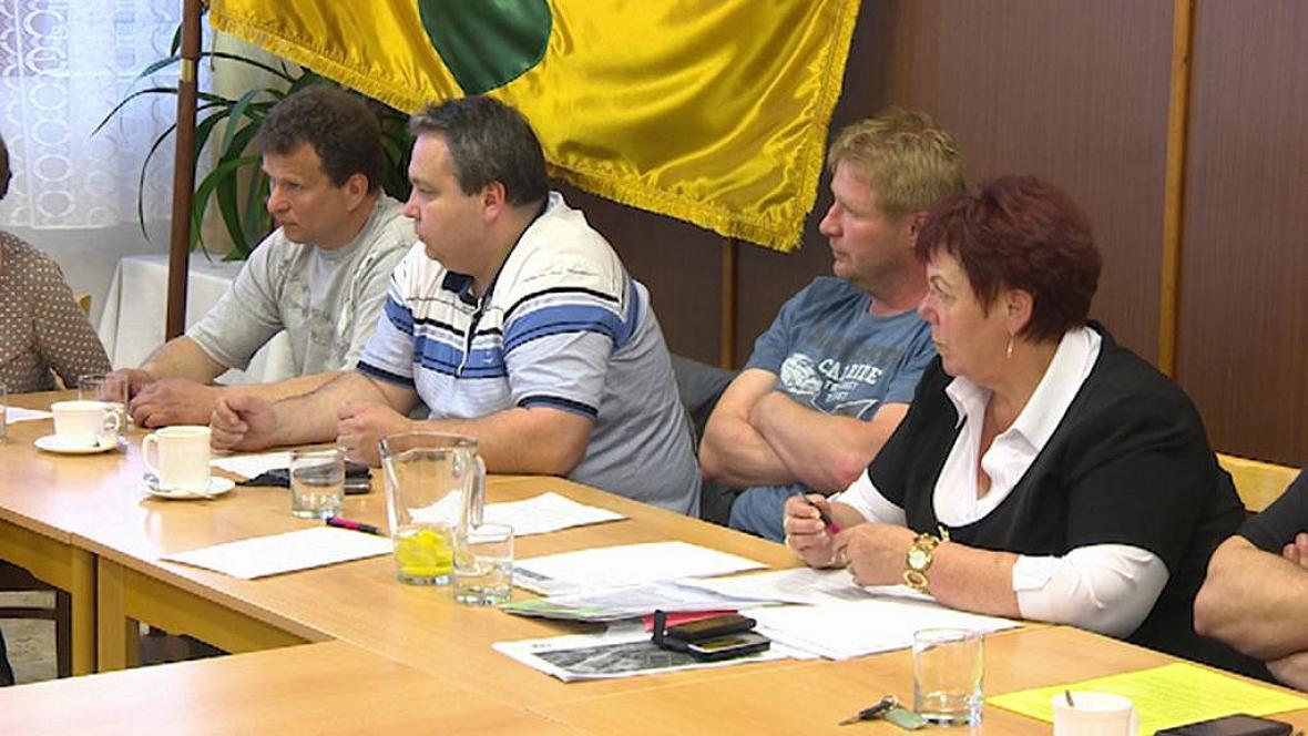 Jednání zastupitelů obce Stěžery