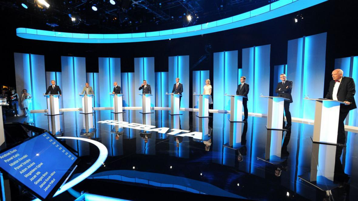 Kandidáti na polského prezidenta