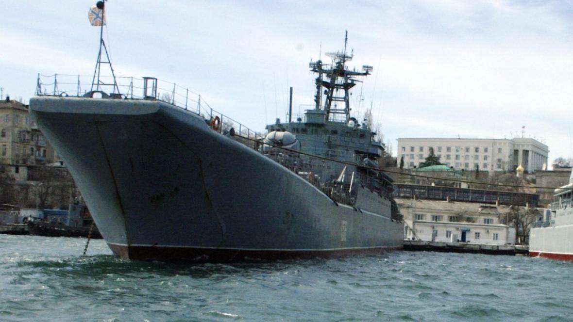 Černomořská flotila v Sevastopoli