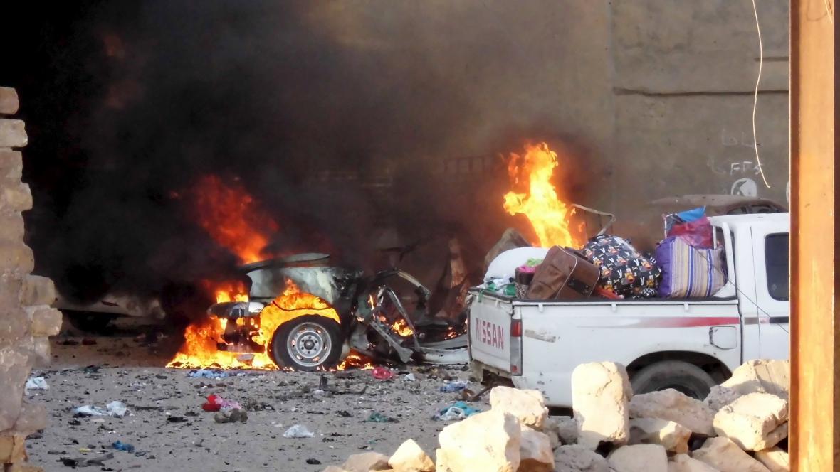 Střety v iráckém městě Ramádí