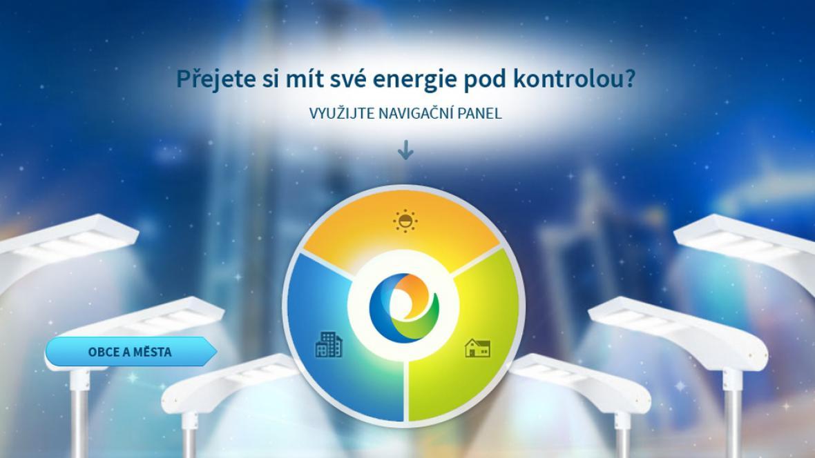 Z webu společnosti Energie pod kontrolou