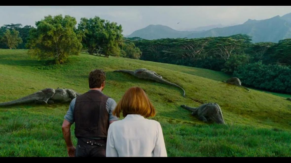 Záběry z filmu Jurský svět