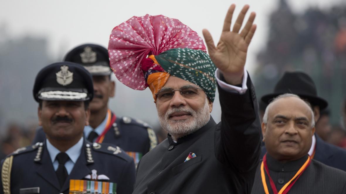 Indický premiér Narendra Módí