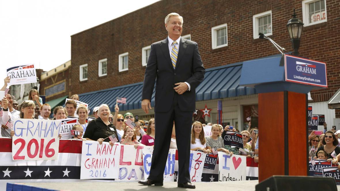 Lindsey Graham ohlásil prezdentskou kandidaturu