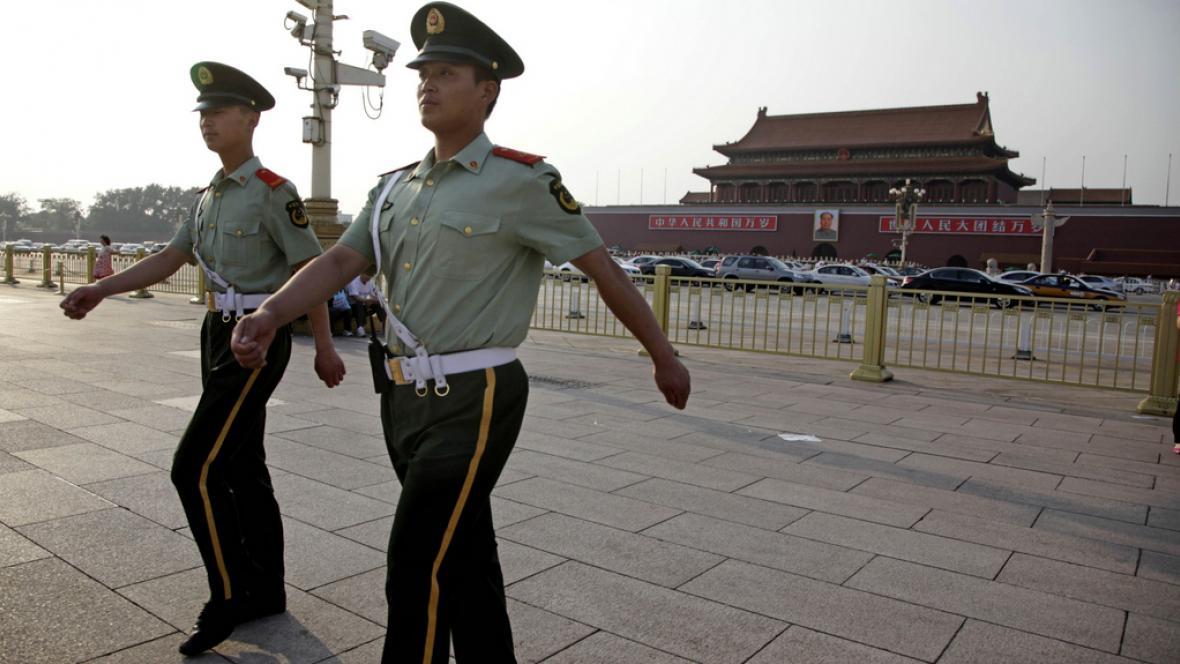 Náměstí Nebeského klidu v Pekingu