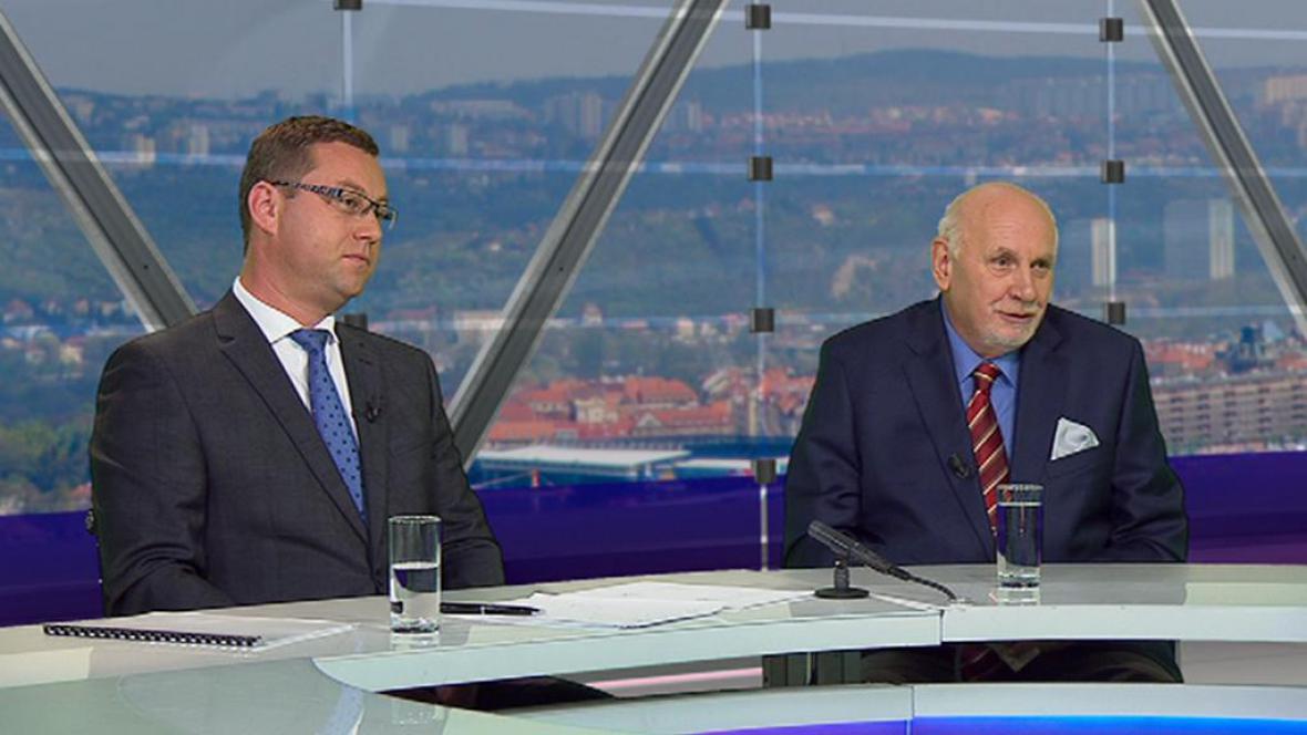 Pavel Zeman a Pavel Rychetský