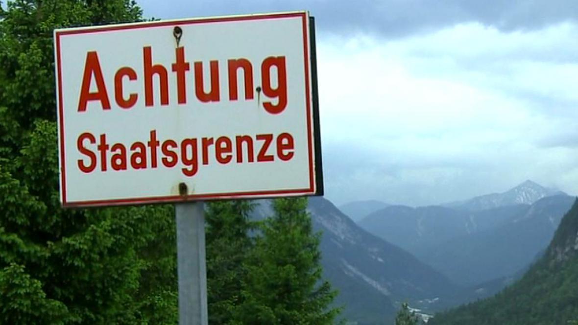 Německá státní hranice