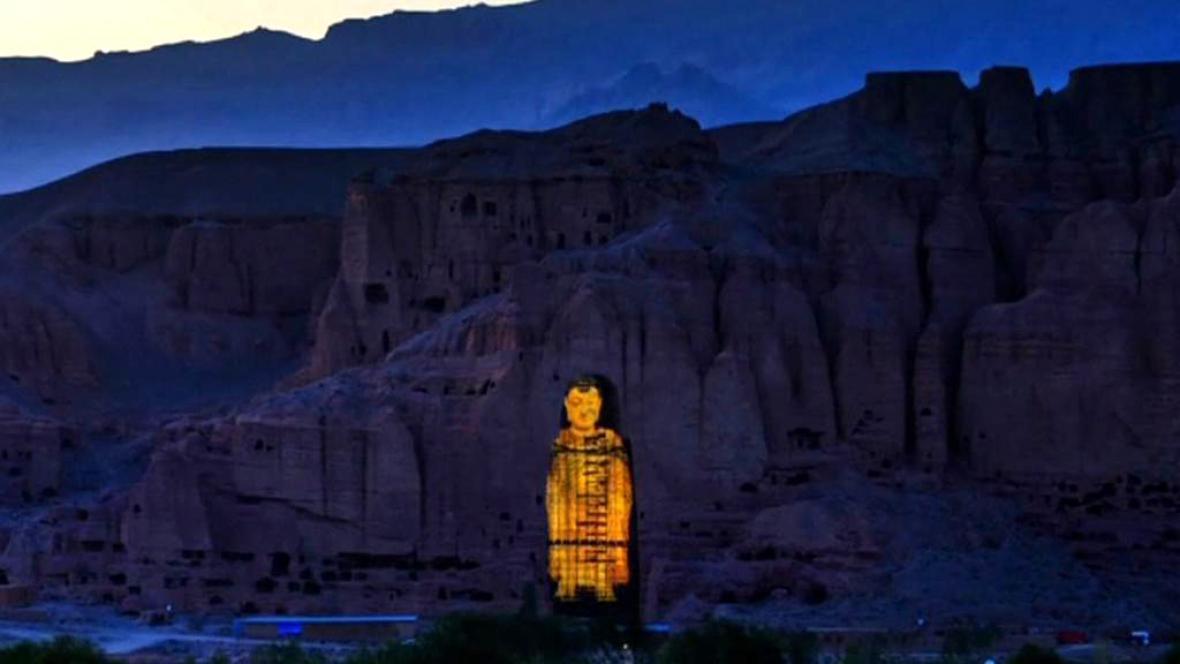 Světelná show vrátily Buddhy do Bamjánu