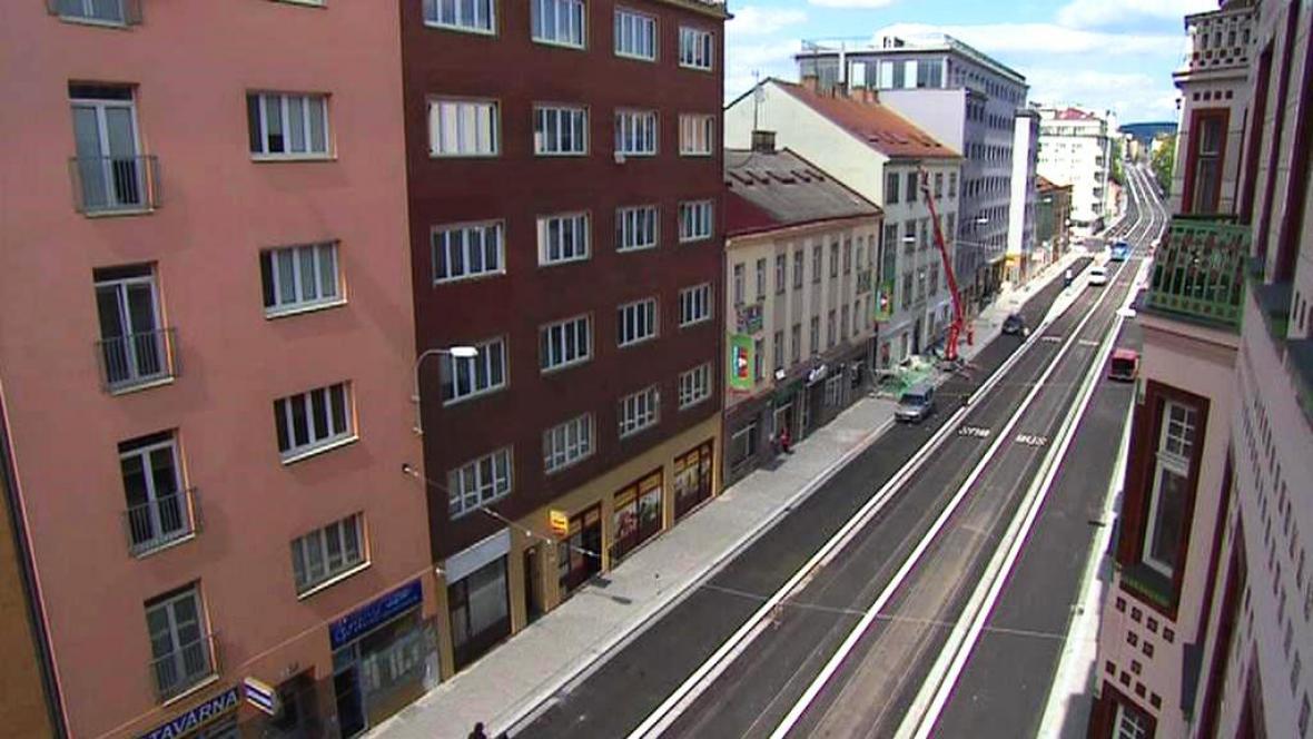 Ulice Milady Horákové v Brně