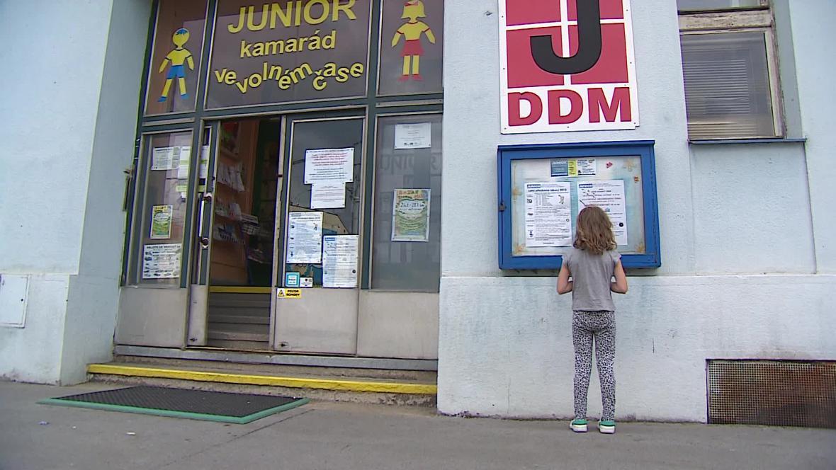 Dům dětí a mládeže Junior na brněnské ulici Dornych