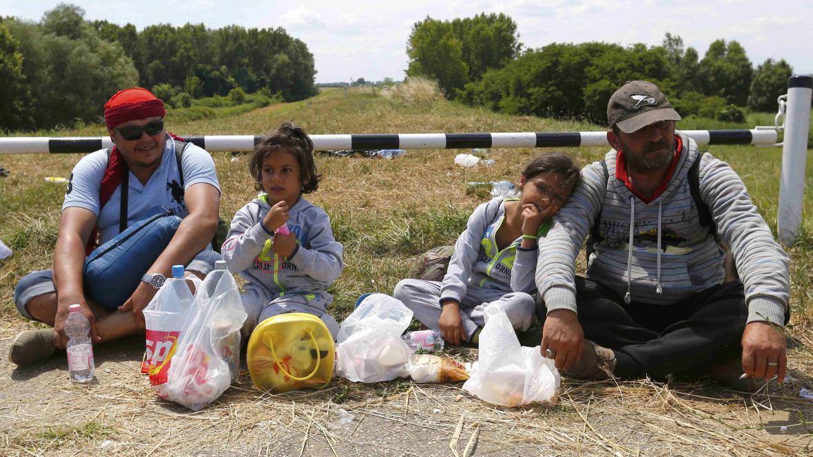Utečenci ze Sýrie v Maďarsku