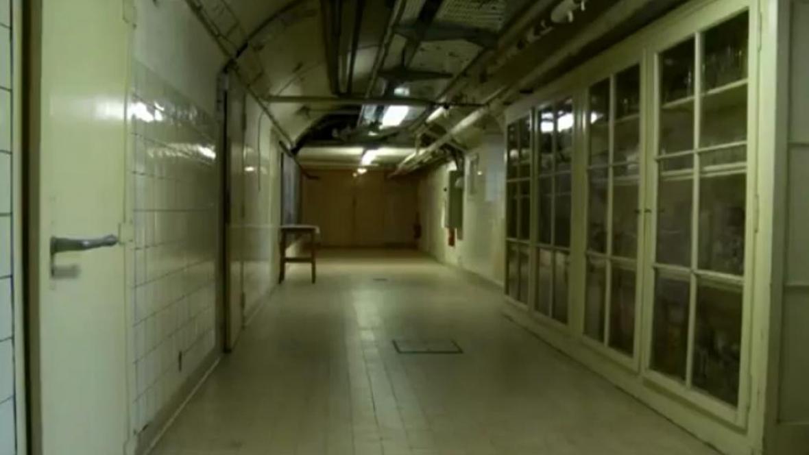 Prostory lékařské fakulty ve Štrasburku, kde měly probíhat pokusy na obětech