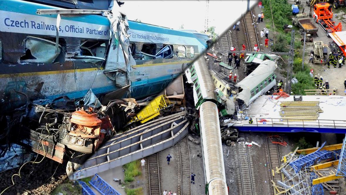 Nehody ve Studénce v letech 2015 a 2008