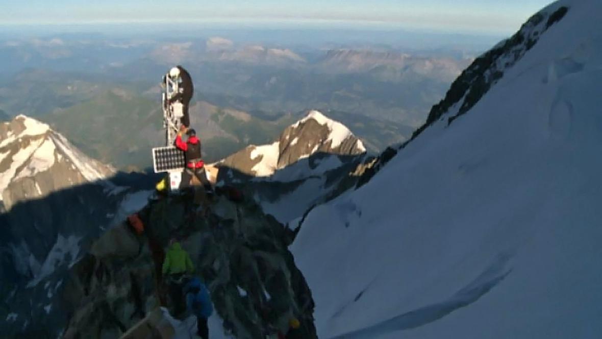Vědecká stanice pod Mont Blancem