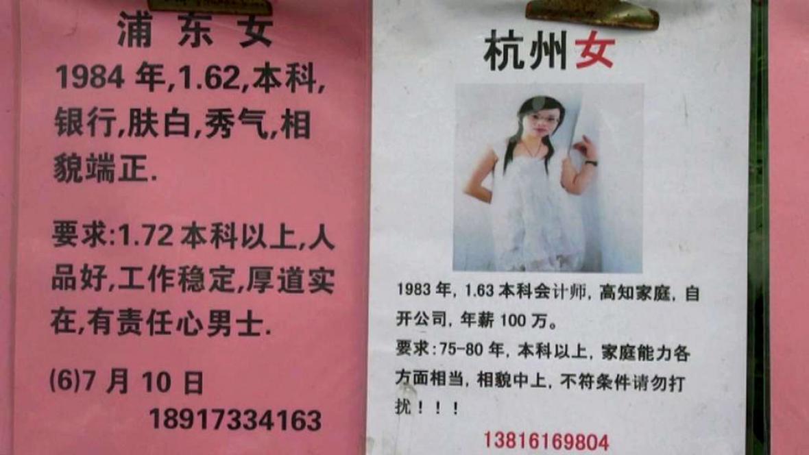 historie dohazování v Číně ivy liga škola seznamovací web