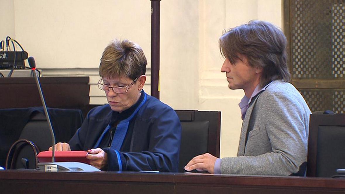 Miloš Vlasák u soudu