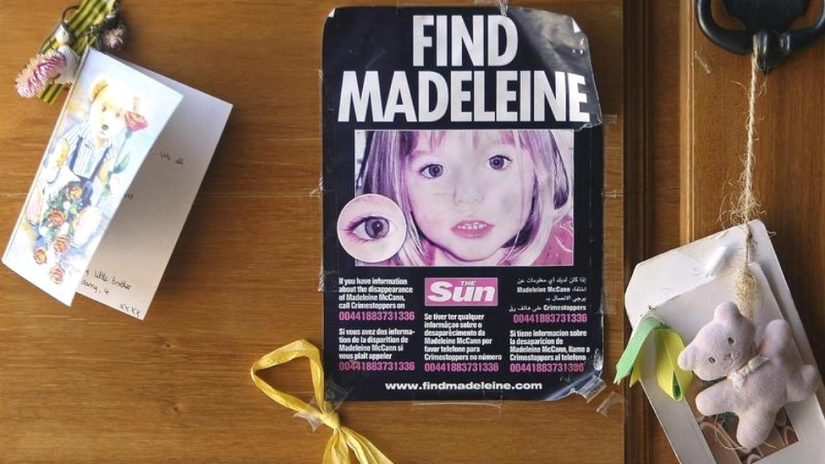 Případ zmizelé Maddie McCannové není vyřešen ani po osmi letech