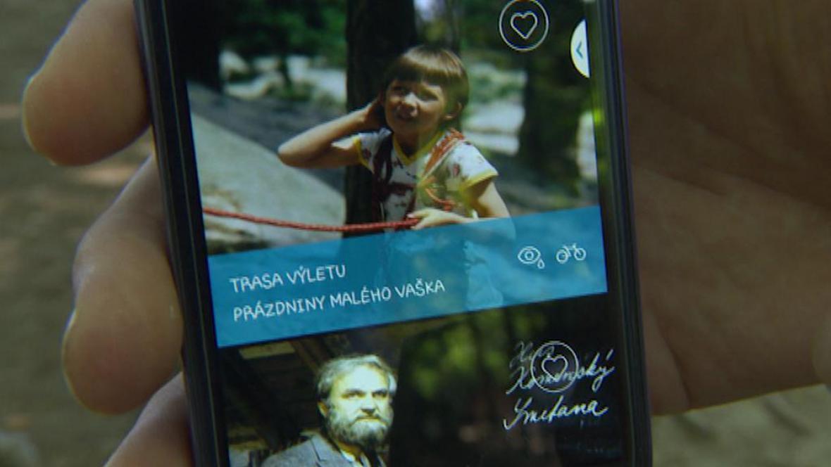 Aplikace, která provede turisty filmovým a pohádkovým Českým rájem