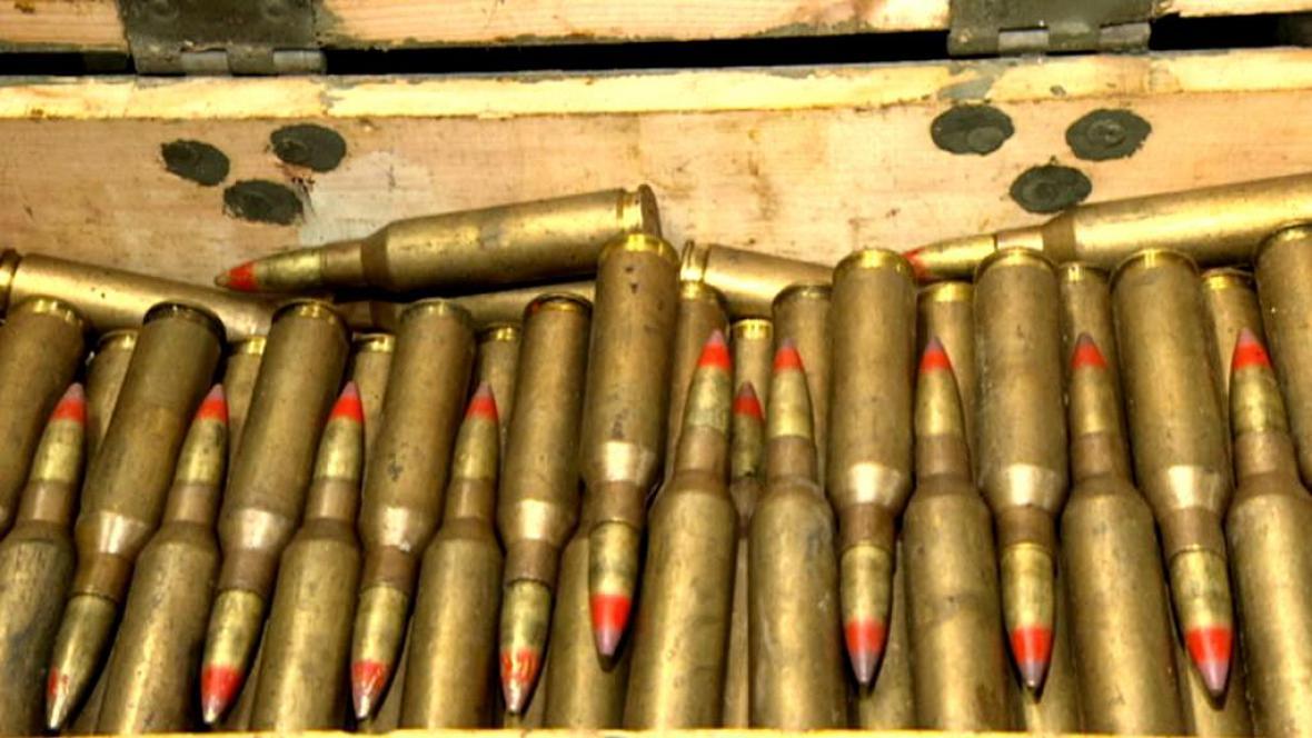 Nález munice