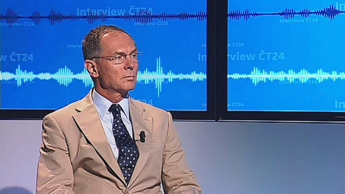 Jan Švejnar v Interview ČT24