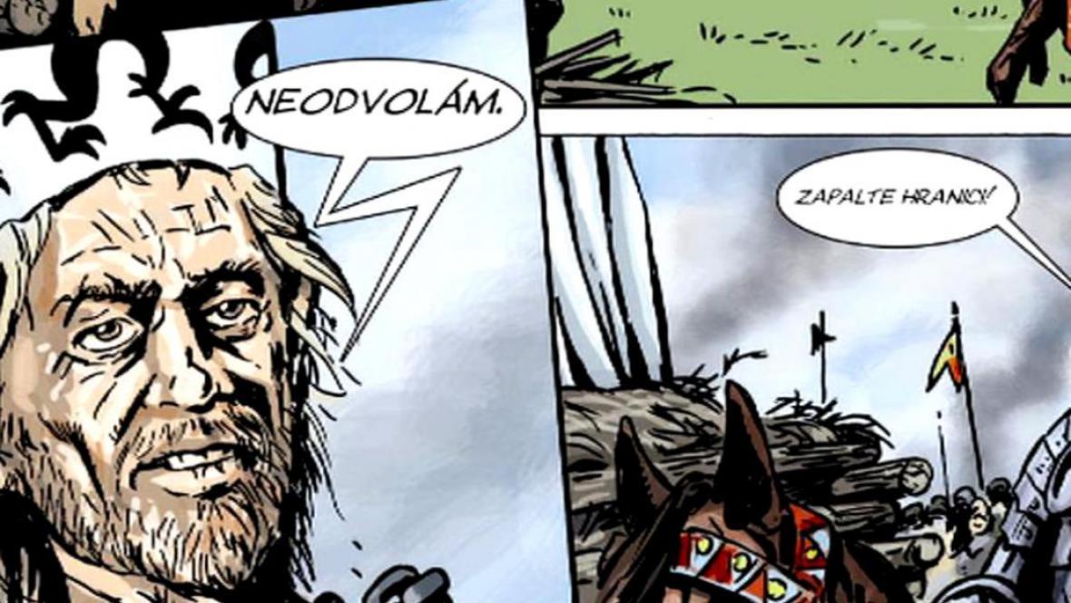 Komiks Ve jménu Husa