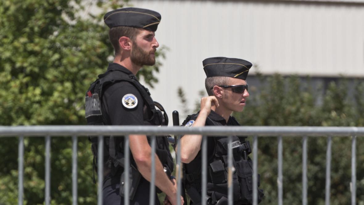 Hlídkující policisté