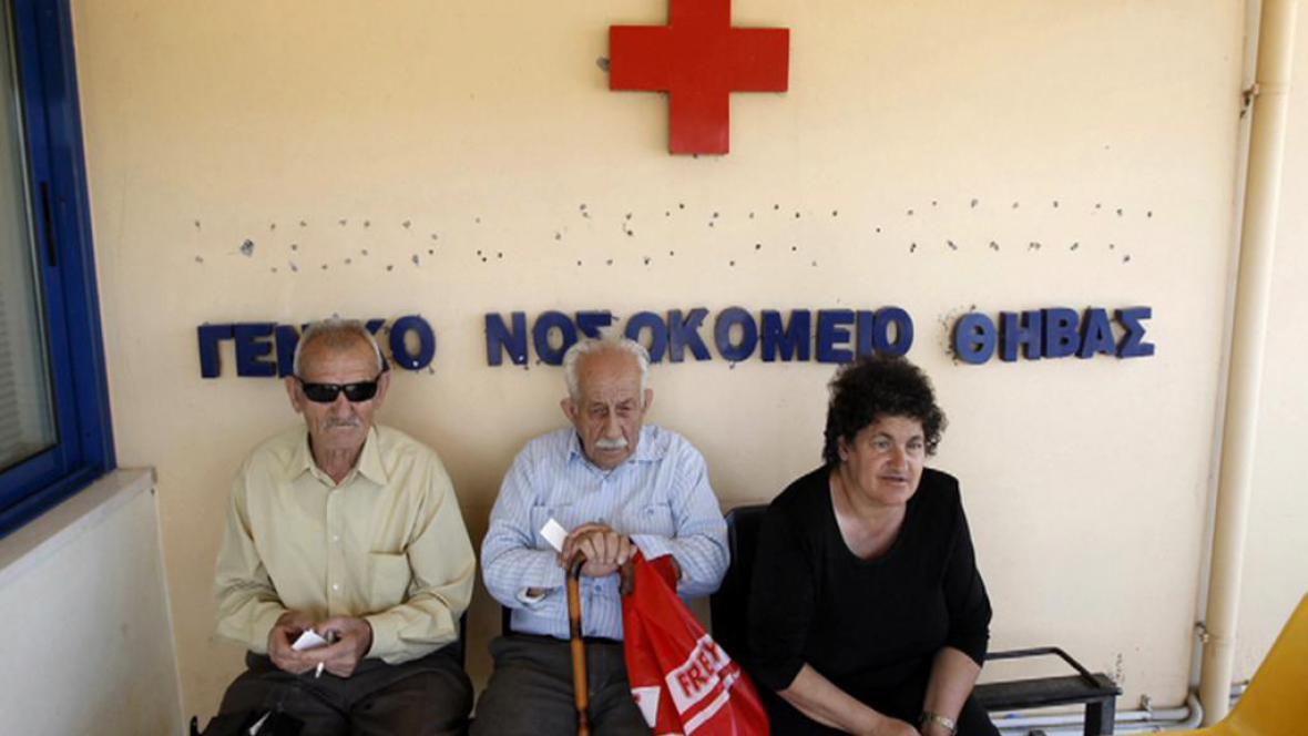 Třetina Řeků se spoléhá na dobročinné zdravotnictví