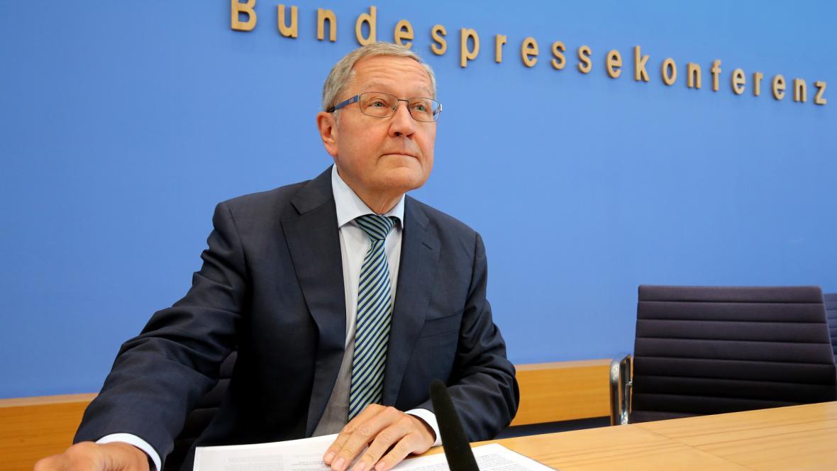 Šéf ESM Klaus Regling