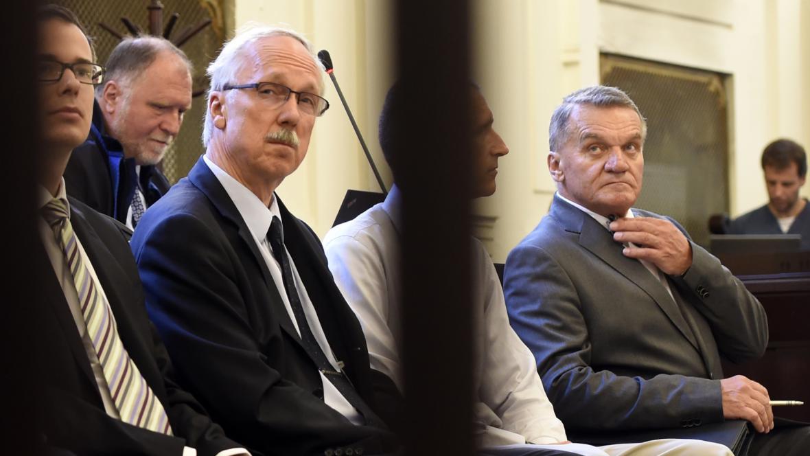 Bohuslav Svoboda u pražského městského soudu kvůli Opencard