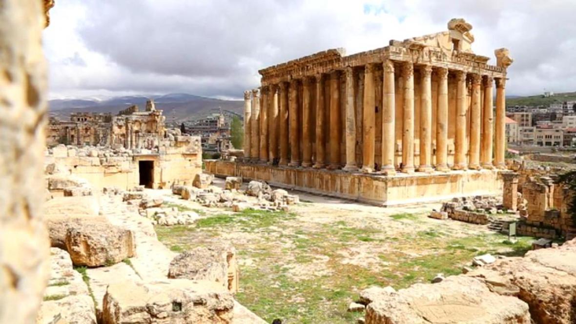 Baalbek v Libanonu