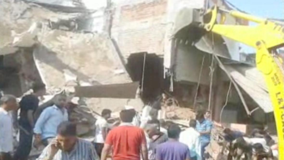 Po výbuchu plynové bomby v restauraci v Indii