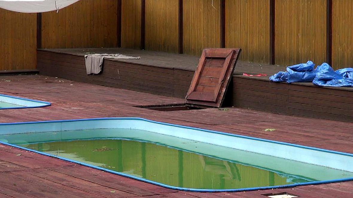 Bazén, kde byly děti zasaženy elektrickým proudem