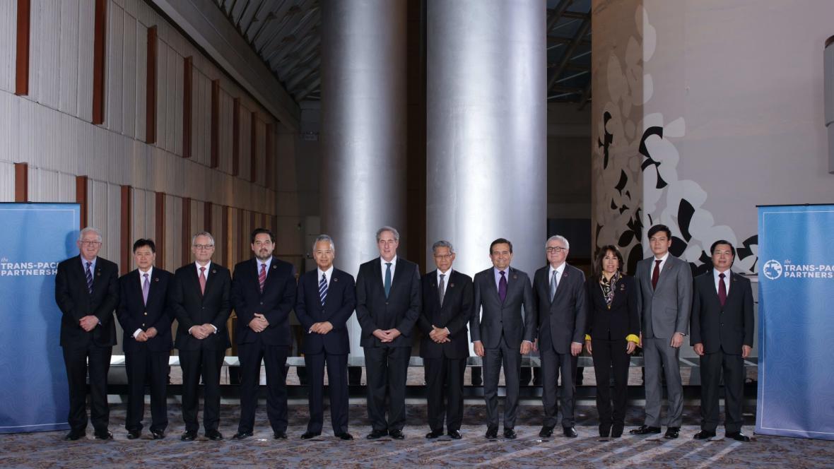Zástupci 12 zemí na jednání o TPP
