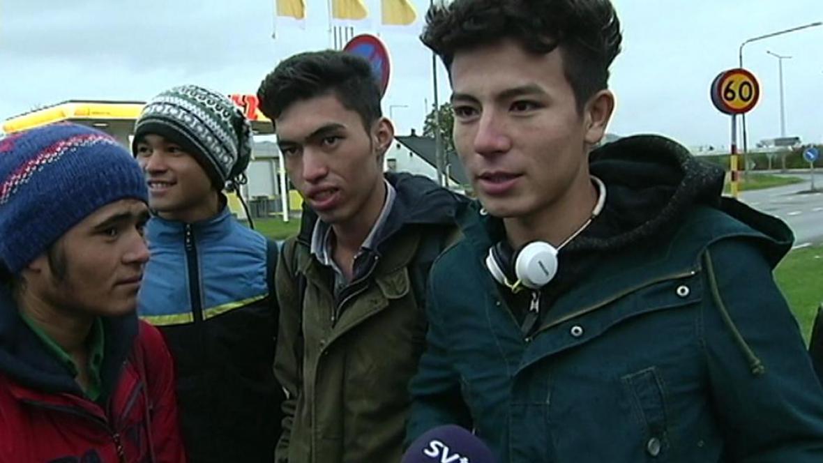 Mladiství uprchlíci ve Švédsku